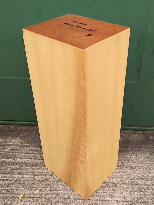 KY-140 榧カヤかや 彫刻用材 400×155×130 乾燥材