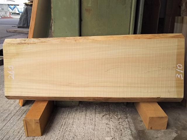 H-210 桧檜ヒノキひのき 国産 天然耳付き板 930×350 天然乾燥材