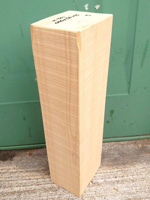 H-501 桧檜ヒノキひのき 米桧 彫刻用 440×120×95 天然乾燥材