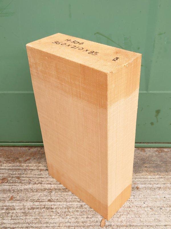H-504 桧 柾盤 能面 檜ヒノキひのき 米桧 彫刻用 360×210×85 天然乾燥材