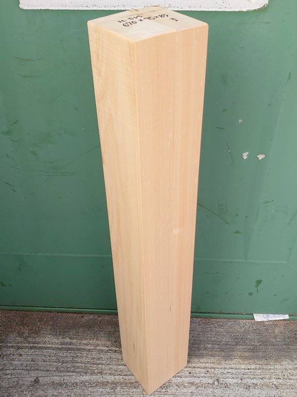 H-514 桧 柾盤 能面 檜ヒノキひのき 米桧 彫刻用 670×95×85 天然乾燥材
