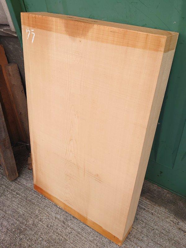 H-523 桧 木曽桧 尾州桧 檜ヒノキひのき 彫刻用 840×515×110 天然乾燥材