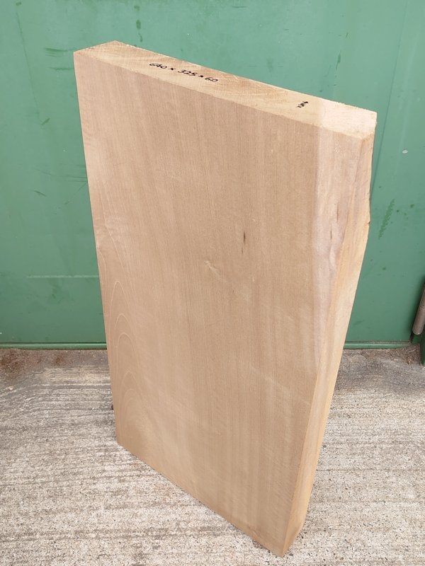 HO-122 朴ホウノキほうのき 国産 彫刻用材 640×325×60 乾燥材