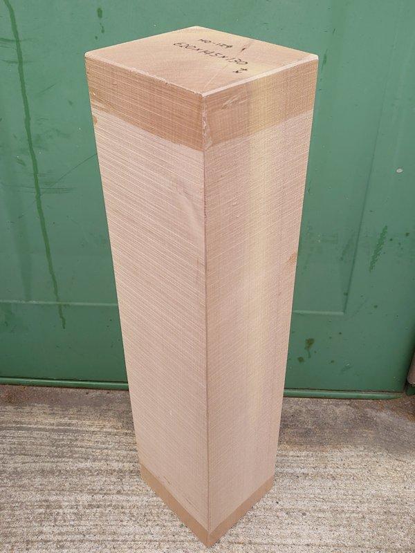HO-124 朴ホウノキほうのき 国産 彫刻用材 620×145×130 乾燥材