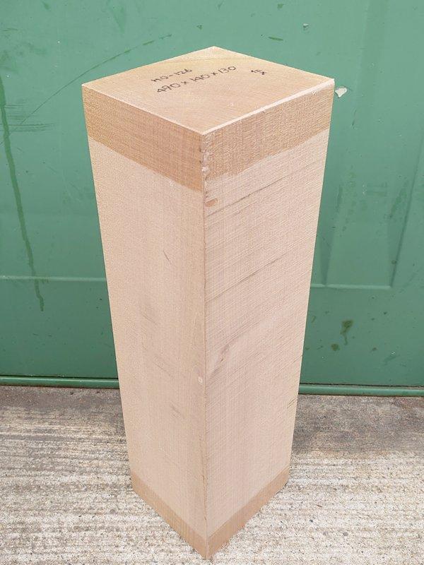 HO-126 朴ホウノキほうのき 国産 彫刻用材 490×140×130 乾燥材