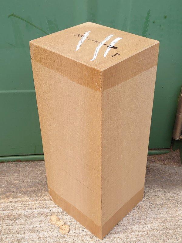 HO-128 アウトレット 朴ホウノキほうのき 国産 彫刻用材 330×145×130 乾燥材