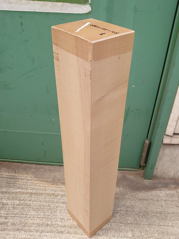 HO-129 アウトレット 朴ホウノキほうのき 国産 彫刻用材 680×125×105 乾燥材
