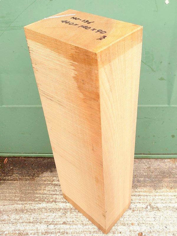 HO-136 朴ホウノキほうのき 国産 彫刻用材 440×140×90 乾燥材