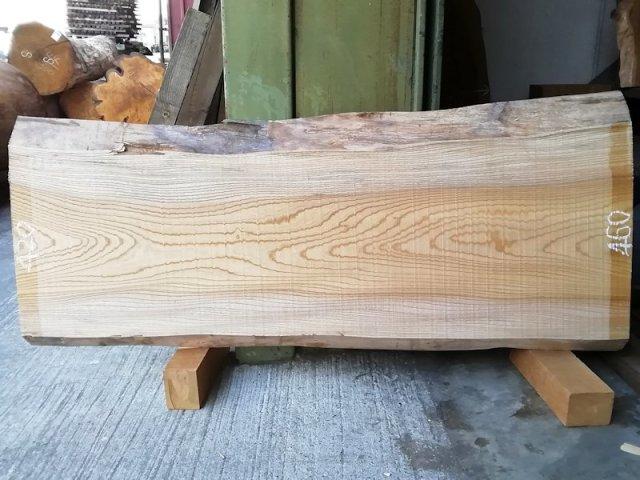 K-566 欅ケヤキ 国産 天然耳付き板 1340×550 天然乾燥材