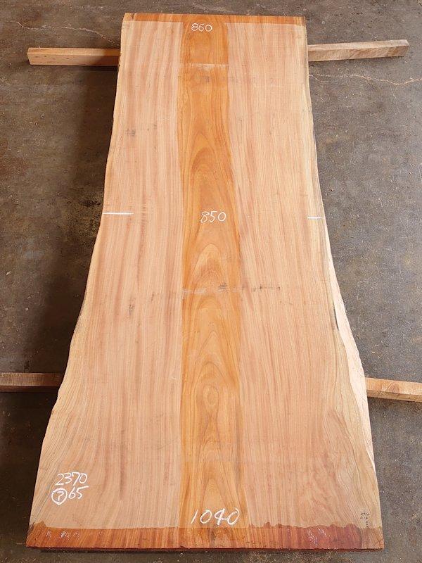 K-658 欅ケヤキ 国産 天然耳付き板 2370×900 天然乾燥材