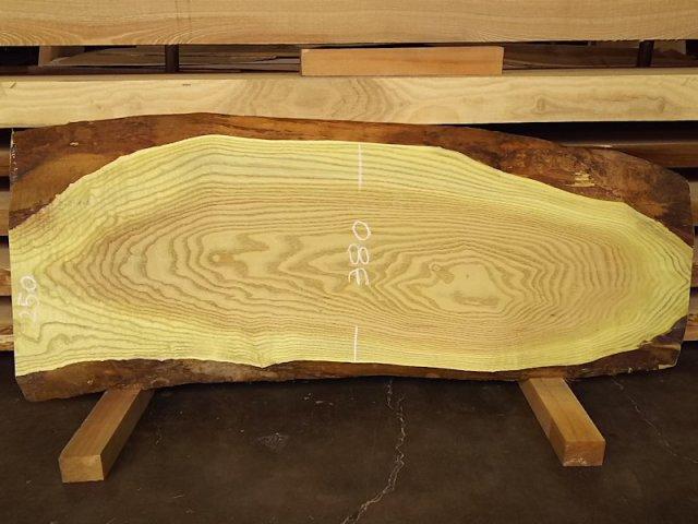 KH-125 キハダきはだ黄蘗 国産 天然耳付き板 1160×400 天然乾燥材