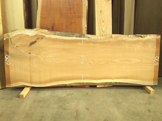 KP-101 玄圃梨ケンポナシ 国産 天然耳付き板 1740×600 天然乾燥材