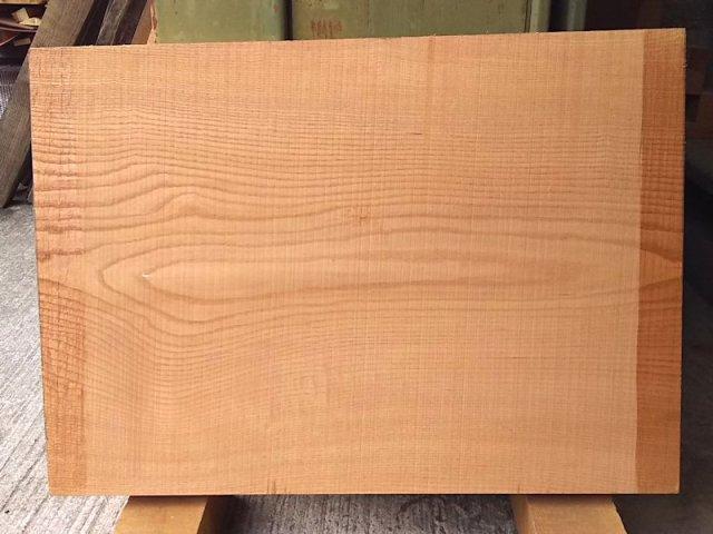 KP-104 玄圃梨ケンポナシ 国産 耳なし板 680×490 天然乾燥材