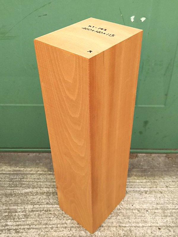 KT-142 桂カツラかつら 国産 彫刻用材 460×140×115 乾燥材