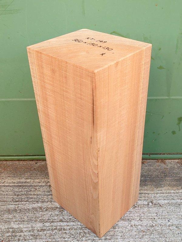 KT-149 桂カツラかつら 国産 彫刻用材 360×150×130 乾燥材