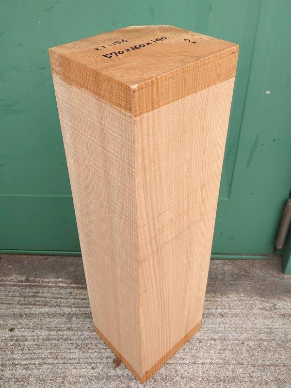 KT-156 桂カツラかつら 国産 彫刻用材 570×160×140 乾燥材