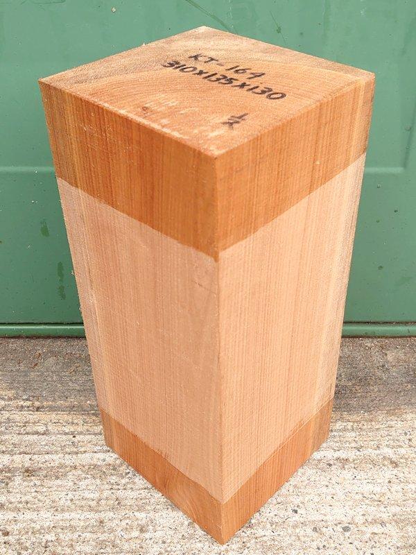 KT-164 桂カツラかつら 国産 彫刻用材 310×135×130 乾燥材