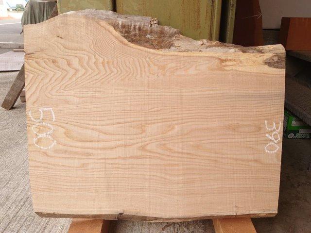 KU-146 栗クリ 国産 天然耳付き板 670×550 天然乾燥材