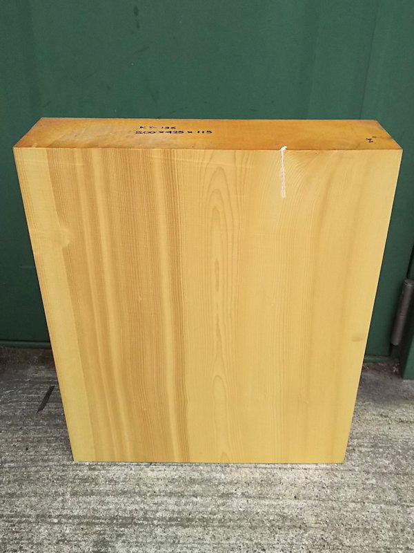 KY-136 榧カヤかや 彫刻用材 500×425×115 乾燥材