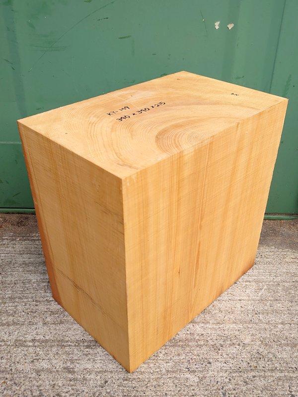 KY-149 榧カヤかや 国産 彫刻用材 340×340×215