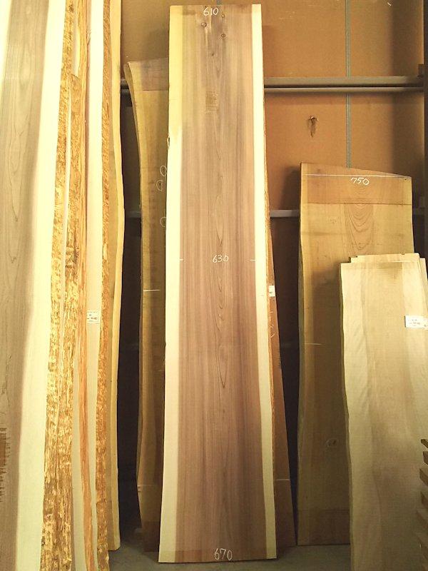 S-233 杉スギすぎ 国産 天然耳付き板 3480×650 天然乾燥材