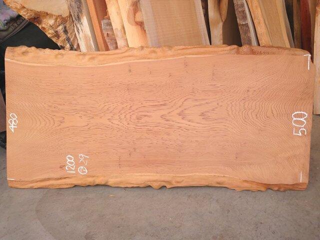 S-244 杉スギすぎ 国産 良杢 耳付き板 1200×550 天然乾燥材