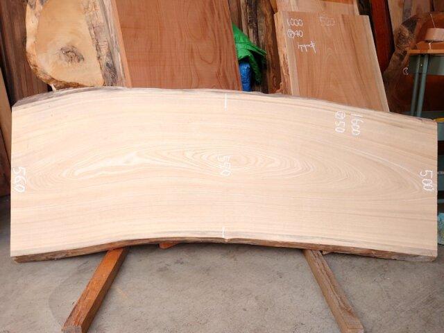 SN-127 栓センノキ 天然耳付き板 1600×600  天然乾燥材