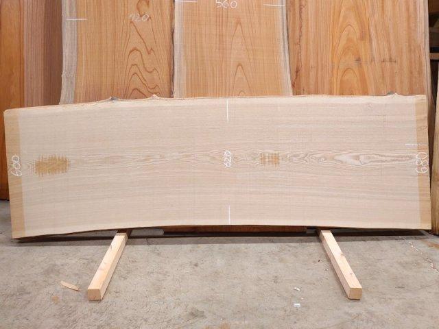 TM-210 タモ 天然耳付き板 2040×700  天然乾燥材