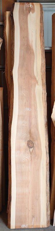 S-246 杉スギすぎ 国産 天然耳付き板 4320×650 天然乾燥材