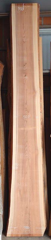 S-247 杉スギすぎ 国産 天然耳付き板 4750×650 天然乾燥材