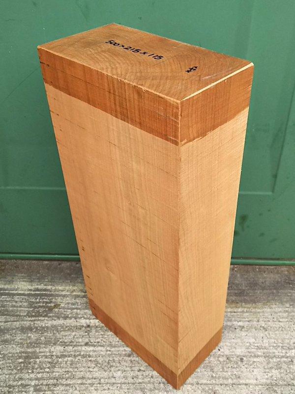 SA-197 真桜(山桜) 国産 彫刻用材 500×215×115 乾燥材