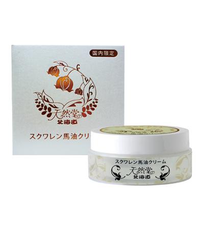 北海道天然堂 北海道保湿馬油クリーム/80g
