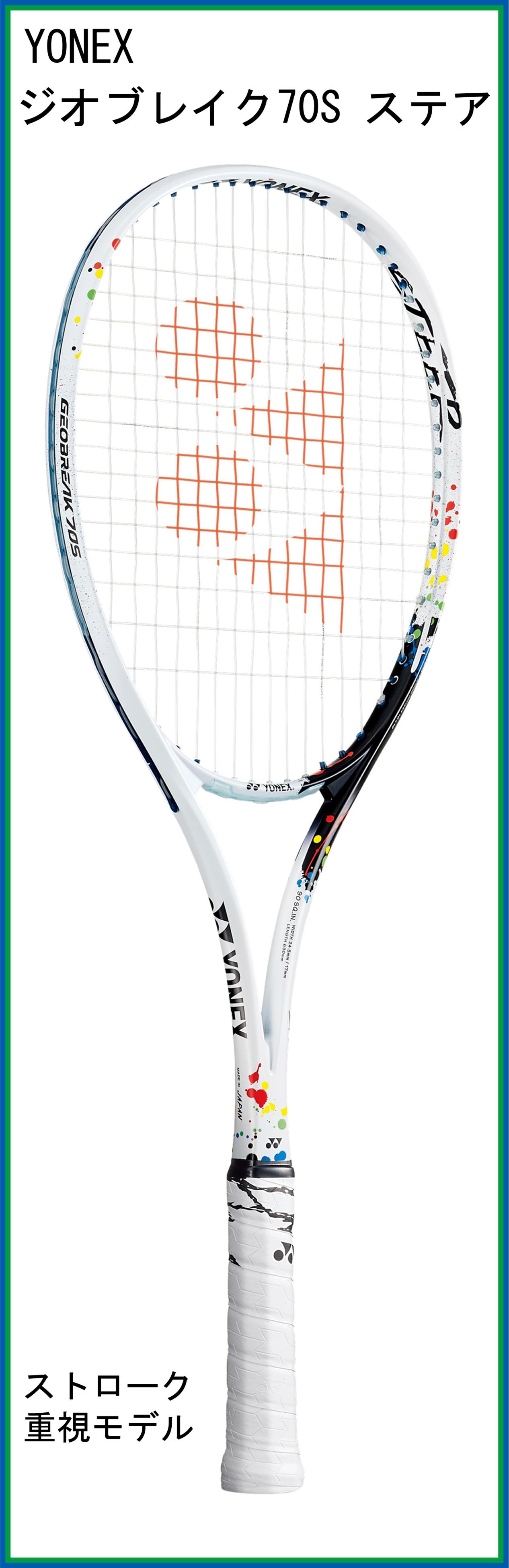 【新製品ラケット】 ヨネックス GEOBREAK 70S STEER ジオブレイク70S ステア (2021年8月発売)