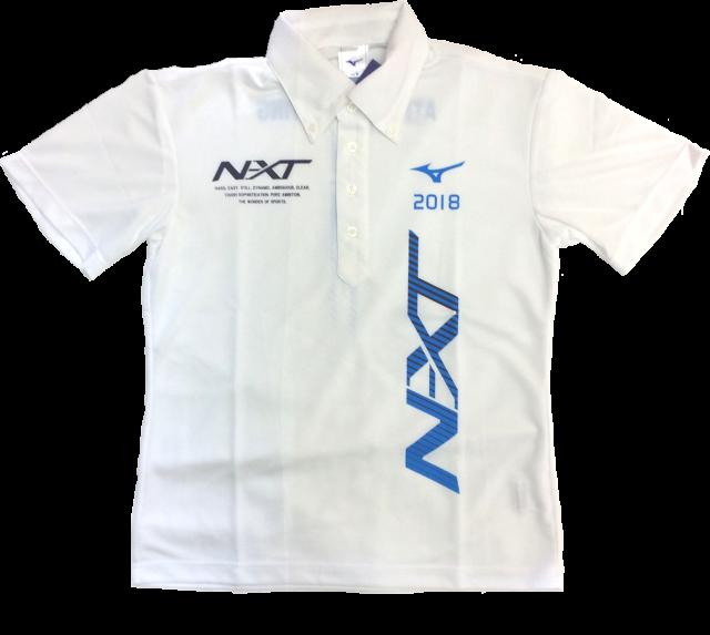 【SALE】 ミズノ 2018 NXT ポロシャツ (32JAV806)