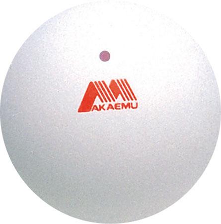 ルーセント ソフトテニスボール アカエム ホワイト (公認球)  2個入り M-30000