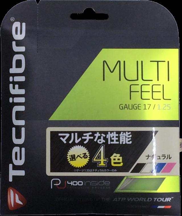 テクニファイバー MULTI FEEL 1.25/1.30 マルチフィール 1.25/1.30