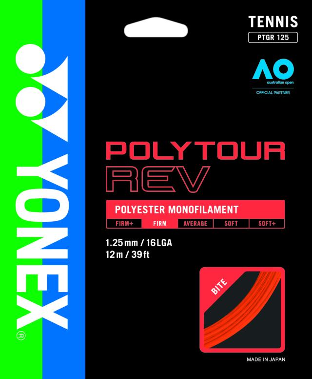 ヨネックス POLYTOUR REV 125 ポリツアーレブ 125