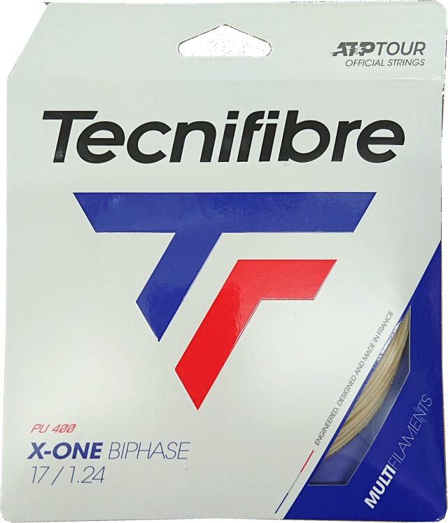 Tecnifiber(テクニファイバー) X-ONE BIPHASE 1.24 X-ONEバイフェイズ 1.24