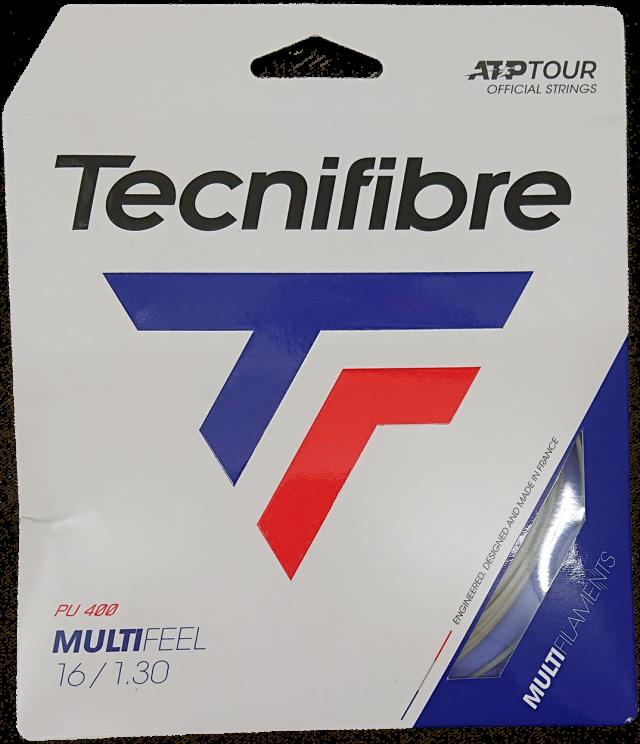 Tecnifiber(テクニファイバー) MULTI FEEL 1.25/1.30 マルチフィール 1.25/1.30