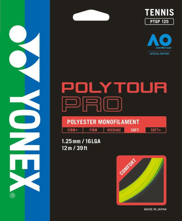 ヨネックス POLYTOUR PRO 125/130 ポリツアープロ 125/130