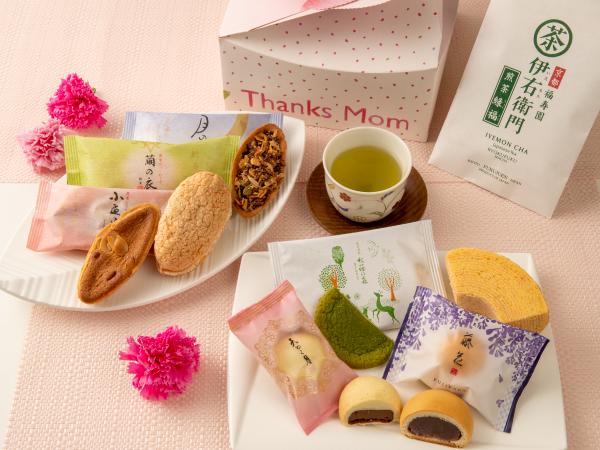 母の日ギフト(お菓子×お茶)