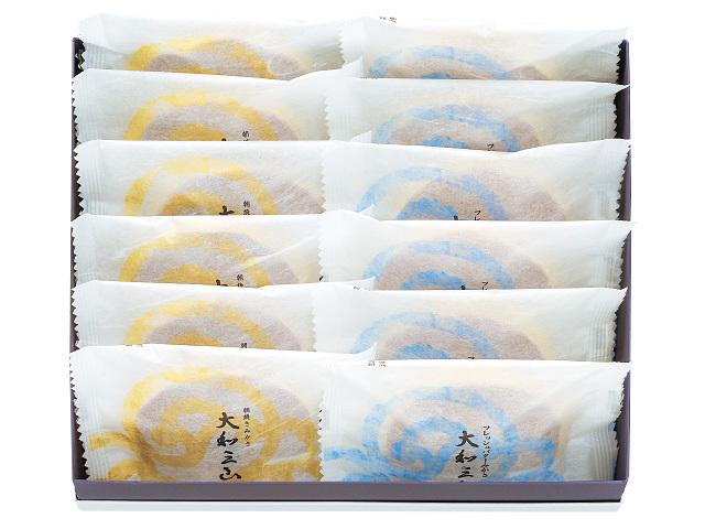 大和三山&フレッシュバターみかさ よくばりセット(6個)