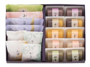 涼菓詰合せ(水羊羹10・焼き菓子)