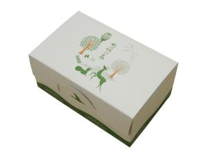 秋篠の森5個入箱_白2