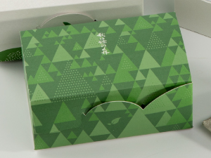 秋篠の森5個入箱_緑