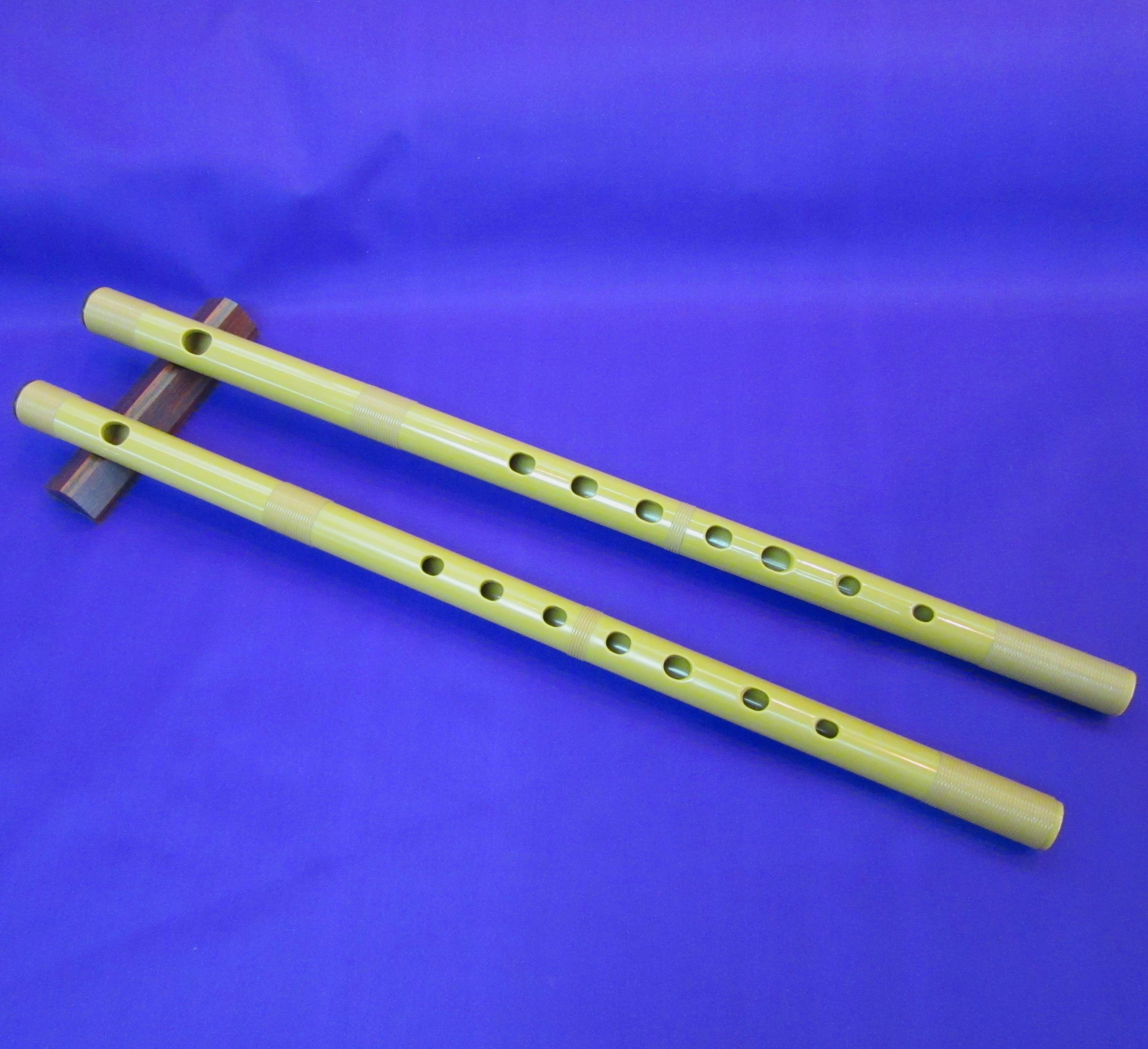 篠笛樹脂管【七・八本調子】