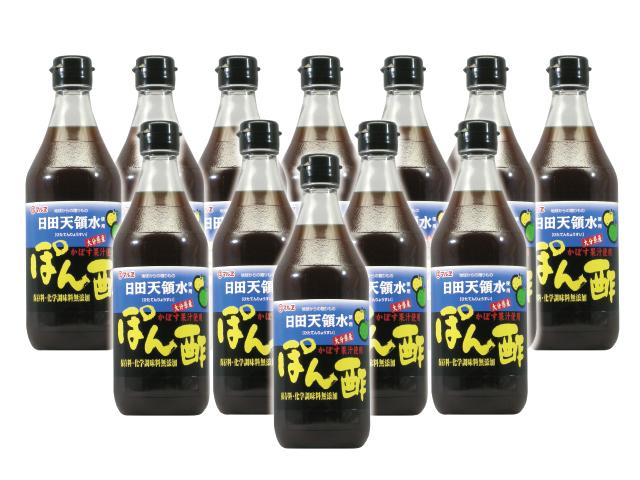マルヱ日田天領水使用ぽん酢12本入り