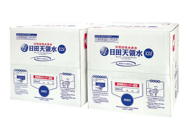 定期会員専用日田天領水BIB12L