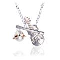 ◆即日発送◆天使の卵 天使のバイオリンシルバーネックレス オーケストラシリーズ 【天使11103】[楽器 音楽]