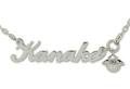 ネームオーダー オリジナル アルファベット ペンダント